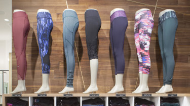At least one staff member used their allowance to buy Lululemon pants.