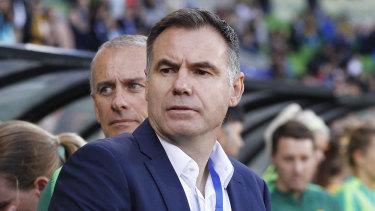 Concerns: Matildas boss Ante Milicic has plenty of work ahead of him.