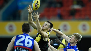 Noah Balta was singled out for praise by Richmond coach Damien Hardwick after his side's victory over the Western Bulldogs.