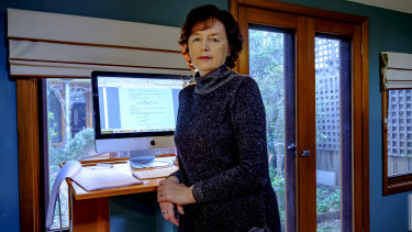 Writer Elizabeth Coleman started using a standing desk five years ago after reading about dangers of remaining sedentary during the workday.
