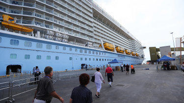 It will be some time before a cruise ship docks at Brisbane's Hamilton port again.