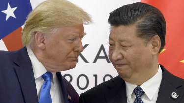 US President Donald Trump and Chinese President Xi Jinping: Both have strong reasons to find face-saving ways to end the trade war.