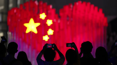 Chinese services data accelerated in September.