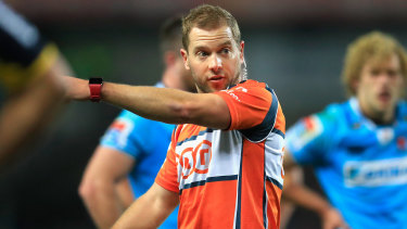 Australian Angus Gardner will call the shots in the Waratahs' round five clash with the Lions on Friday.