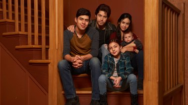 The cast of Party of Five.