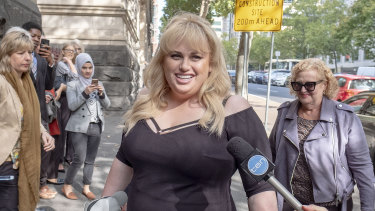 Wilson arriving at Melbourne's Court of Appeal in April.