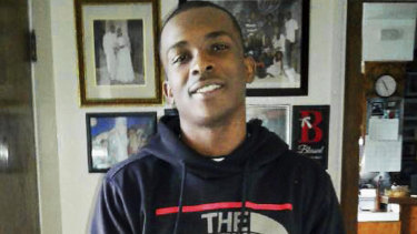 Stephon Clark, pictured on the afternoon he died, was shot by police in his grandmother's backyard.