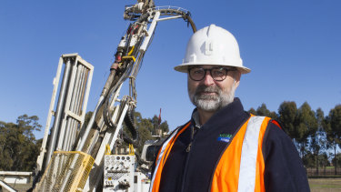 Geoff McDermott, managing director of Navarre Minerals.