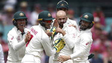 Nathan Lyon now has more Test wickets than England great Ian Botham.