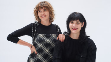 Kelly Elkin (left) and Courtney Sanders are the co-founders of Well Made Clothes.