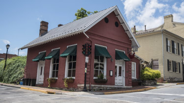 The Red Hen Restaurant in  Lexington, Virginia, is a small establishment seating only 26 people.