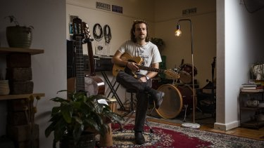 Liam Wilkerson played in three different rock bands and was making the majority of income from gigging. When COVID-19 hit he had to get work with a disability support service teaching music, where he remains working four days a week