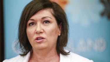 Queensland Minister Leeanne Enoch