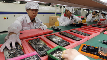 Apple now assembles nearly every iPhone, iPad and Mac in China.