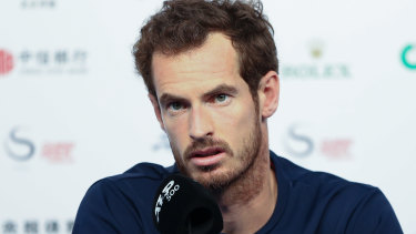 Andy Murray has had a setback on his long road back from surgery.