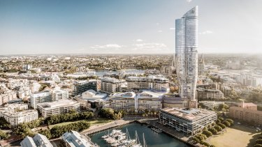 The Independent Planning Commission knocked back The Star's proposal for a 66-storey tower last year.