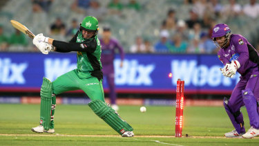 Ben Dunk of the Melbourne Stars.