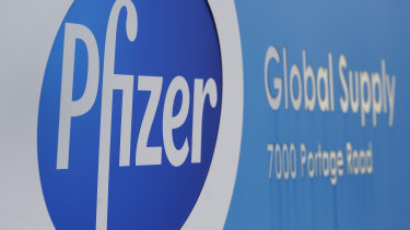 The Pfizer Global Supply Kalamazoo manufacturing plant in Michigan.
