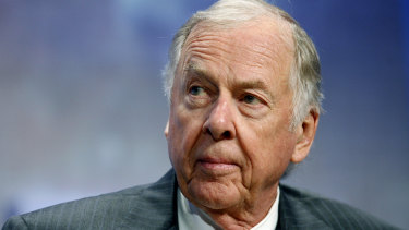 T. Boone Pickens was working right up until his death this week.
