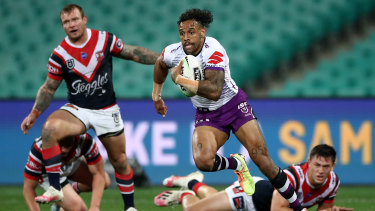 Melbourne Storm winger Josh Addo-Carr wants to play fullback next year.
