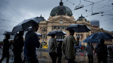 Victoria could get drenched with more than amonth's worth of rain in a single day.