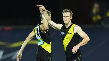 Jack Riewoldt goals for the Tigers.