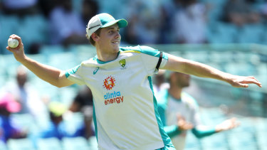 Cameron Green is in line for a potential ODI debut at the SCG on Sunday.