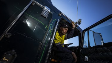 Truck driver William was charged with drug driving last year after driving with medicinal cannabis in his system.