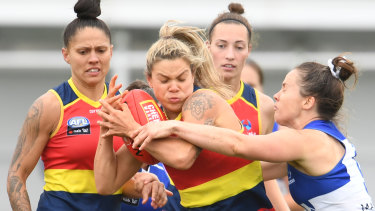 The 2020 AFLW season was abandoned due to the pandemic.