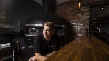 Jarred Turnbull, owner of Bo Gurks bar in Edithvale, hopes the New Zealand travel bubble will enable him to find a pizza chef.