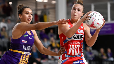 Paige Hadley and the Swifts have been in Queensland since the start of the Super Netball season.