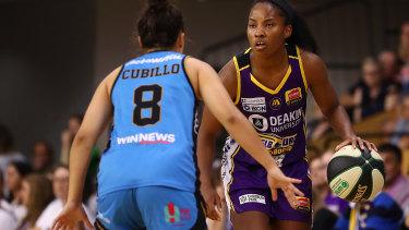 Melbourne Boomers import guard Lindsay Allen.
