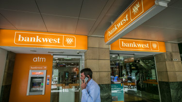 Bankwest's east coast footprint will be reduced to 14 branches.