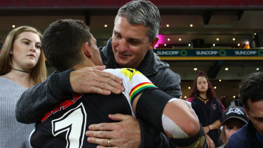 Approach: Ivan Cleary could re-join Penrith and his son Nathan.