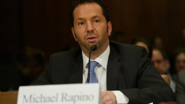 Live Nation President and CEO Michael Rapino, and then-Ticketmaster CEO, testifies before the Senate Judiciary in 2009.