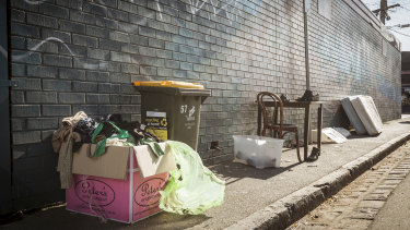 More and more rubbish, rather than sellable items, is dumped on op shops each year, costing charities many thousands in fees for landfill and recycling collections.