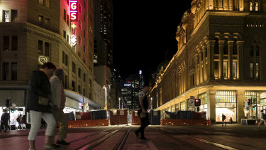 The lockout laws have been blamed for the decline in nightlife in Sydney's CBD.