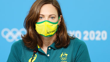 'Pressure is a pivilege': Cate Campbell says the swimming team is now more focused on people than performances.