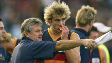 Neil Craig in 2004, during his time as coach of the Adelaide Crows.