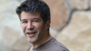 Uber founder Travis Kalanick's stake is worth about $US5 billion.