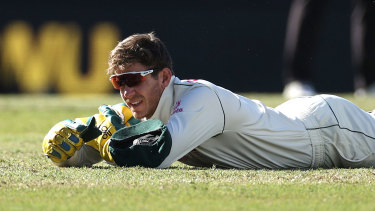 Tim Paine put down three chances in Sydney, which hurt Australia's push for victory.