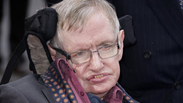 Professor Stephen Hawking the renowned physicist pictured in March, 2015.
