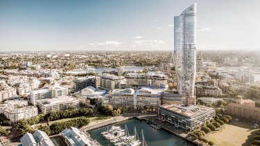 The Independent Planning Commission knocked back The Star's proposal for a 66-storey tower.