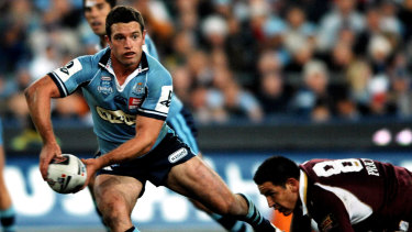 Danny Buderus had a storied career for Newcastle, NSW and Australia.