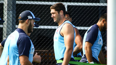 Diamond of the rough: Rob Simmons has been a bright spot in an inconsistent Waratahs side.