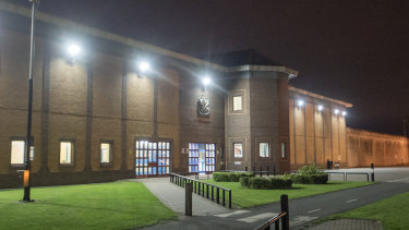 HMP Belmarsh in  London, where WikiLeaks founder Julian Assange is held.