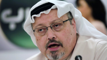 Murdered Saudi journalist Jamal Khashoggi, an outspoken critic of the desert kingdom.