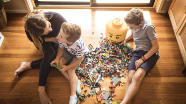 There is likely to be plenty of Lego played in the McGrath household over the coming months.