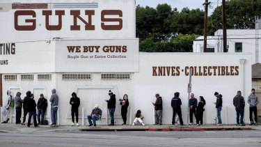 Gun shops have been deemed essential in several US states.