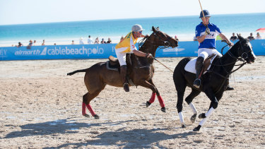 Paspaley Australasian Beach Polo Cup on the sands of Broome.